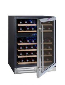 Cave à vin encastrable La Sommelière CVDE46 (45 bouteilles)