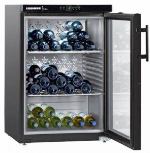 Liebherr WKB 1812 – refroidisseurs à vin (Autonome, Noir, 5 – 20 °C, SN-ST, A, Noir)