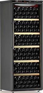 Cave à vin de service – Multi-Températures temp. – 160 bouteilles – Noir – CALICE – ACI-CAL207 – Pose libre