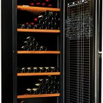 Cave à vin de vieillissement – 1 temp. – 264 bouteilles – Noir – AVINTAGE – ACI-AVI433 – Pose libre