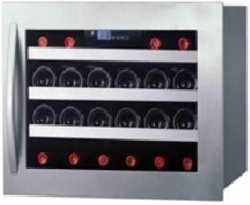 Cave à vin de service – 1 temp. – 22 bouteilles – Inox – AVINTAGE – ACI-AVI475 – Encastrable