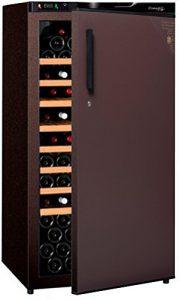 Cave à vin de vieillissement – 1 temp. – 132 bouteilles – Marron – CLIMADIFF – ACI-CLI710TC – Pose libre