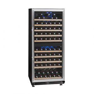 La Sommelière – Cave à vin de vieillissement – TR2V121 – 166 bouteilles – Double zone de température