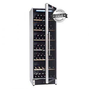 La sommelière VIP180 – Cave à vin multi températures – Cave à air brassé – Cave à vin 180 bouteilles