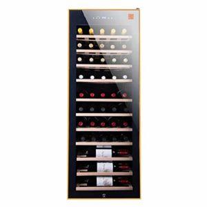 MYYINGELE Service Cave à vin de Mise à Température, Dotée D'Une Capacité Importante pour Stocker 50 Bouteilles de vin Mécanique de 5° C à 22° C, Faible Niveau Sonore Silencieuse