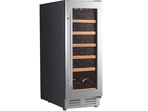 Climadiff CLE18 refroidisseur à vin – refroidisseurs à vin (Autonome, Noir, 5-22 °C, N-ST, A, Acier inoxydable)