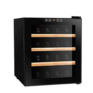 JJSFJH Cave à vin, Mini électronique vin Cabinet Petit Ice Bar réfrigéré Congélateur Cave à vin Conservation des Aliments