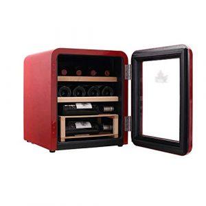 JJSFJH Cave à vin/Chiller |Comptoir Rouge et Blanc Cave à vin |Réfrigérateur autoportant, Fonctionnement Silencieux Réfrigérateur