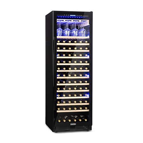 Klarstein Vinovilla Onyx Réfrigérateur à vin 165 Bottiglie