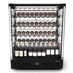 Vitrine Réfrigérée pour Vin Série PAK Accès Porte Avant – 1015×1240 mm – SAYL –