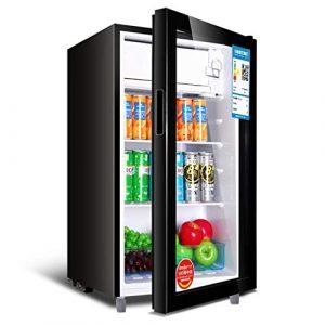 Wine Cooler TX Deluxe Edition – Réfrigérateur, Réfrigérateur, Capacité de 98 litres, Portes en Verre trempé, Température séparée 5-20 ° C, Régulation de température à 5 Vitesses