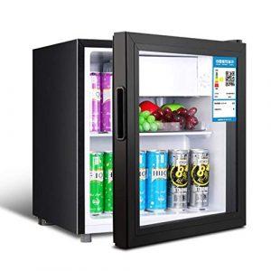 Wine Cooler TX Refroidisseur à vin électronique de Cave à vin autoportante et réfrigérateur à cigares avec réglage de la température, Mini Bar à Glace avec étagères Amovibles réglables (50 litres)