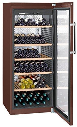 WKt4552 LIEBHERR Cave à vin de vieillissement 435L net, +/- 201 bouteilles, 70cm, H=165cm, A+, terra ( WKt 4552-21 )