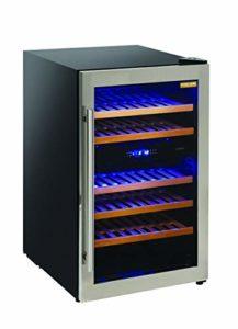 CW 36DT Cave à vin à installation libre avec double température pour vins blancs et rouges