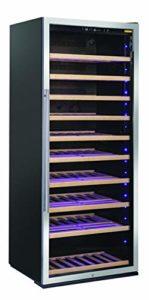 CW 780 Cave à vin à installation libre avec cadre de porte en acier inoxydable