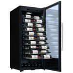 La Sommelière Cave à vin de vieillissement gamme professionnelle La Sommelière PF110 par FRIO   107 bouteilles – Présentation des vins   Design élégant