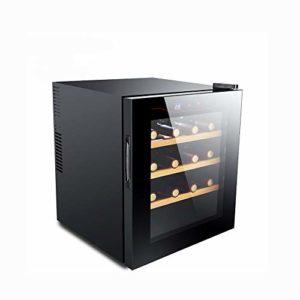 MSG ZY 12-16 Bouteilles de vin Refroidisseur/Autonome réfrigérateur à vin, Cave à vin à écran Tactile, Armoire à cigares, Double vitrage, Température constante à 360 °