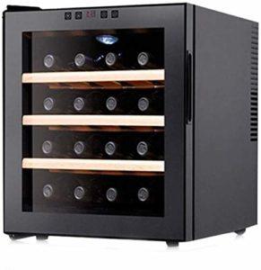 Vin rouge thermostat vin Cabinet Thermostat électronique intégré Mini-Ménage Cabinet Vin Petit Ice Bar réfrigéré Congélateur Cave à vin conservation des aliments (Couleur: Noir, Taille: 51 * 48 * 43cm
