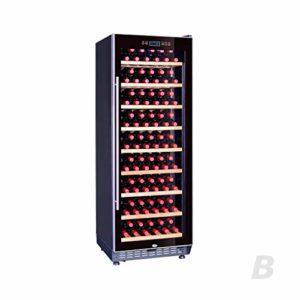 BUDBYU Réfrigérateur Autonome de réfrigérateur de Cave à vin de bière, Refroidisseur Autonome de vin d'écran Tactile, Noir pour la Barre ou Le Bureau à la Maison