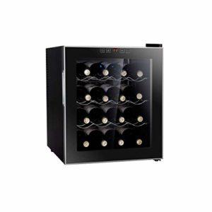 BUDBYU Réfrigérateur Autonome pour Cave à vin, Stockage à température constante/éclairage LED, Refroidisseur/Refroidisseur à vin | Comptoir pour Bar ou Bureau à Domicile