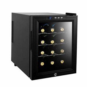 Cave à vin Cave à vin Réfrigérateur de Stockage du vin Accueil Refroidissement Direct de température et d'humidité vin Cabinet Smart Touch écran de Verrouillage de sécurité for Enfants ANGANG