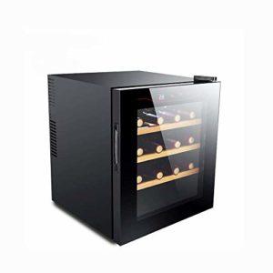 12-16 bouteilles de vin Cooler / autoportant vin Réfrigérateur, écran tactile Cave à vin, cave à cigares, Double vitrage, 360 degrés;température constante moisturizing- refroidisseur de vin Mute YMIK