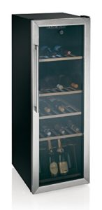 Hoover HWC 25360DL refroidisseur à vin – refroidisseurs à vin (Autonome, 7-18 °C, Noir, N, B, Acier inoxydable)