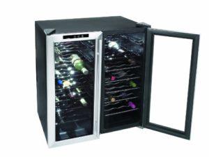 Lacor 69074 Refroidisseur à Vin Électrique 48 Bouteilles